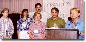 Betty Kielty, Nancy Walker, Michael Steffen, Suzanne DeLisle, Richard Kendall, Lynda Dahl: 1999 Elmira Conference