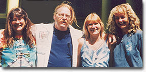 Vicki Pendley, Ron Churchman, Mary Ennis, Cathy McCallum in Elmira 1997